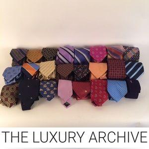 27 Gorgeous Luxury Ties- Hermès, Burberry & More..